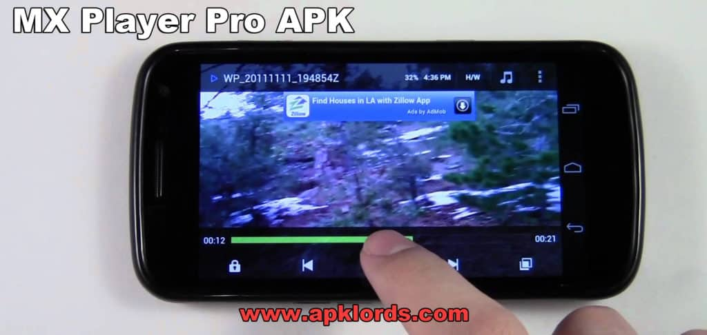 MX Player Pro APK for an ultimate Android media player