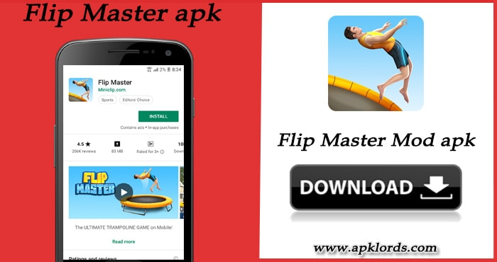 Flip Master Mod apk with unlimited money and gold!