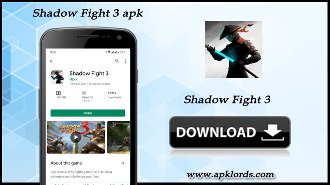 Introducing the electrifying Shadow fight 3 Apk!