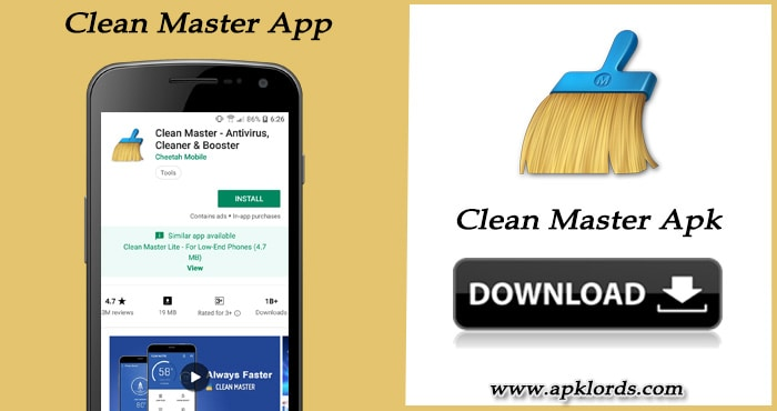 Download the clean master apk latest version for smartphones - Clean master optimizer apk ...