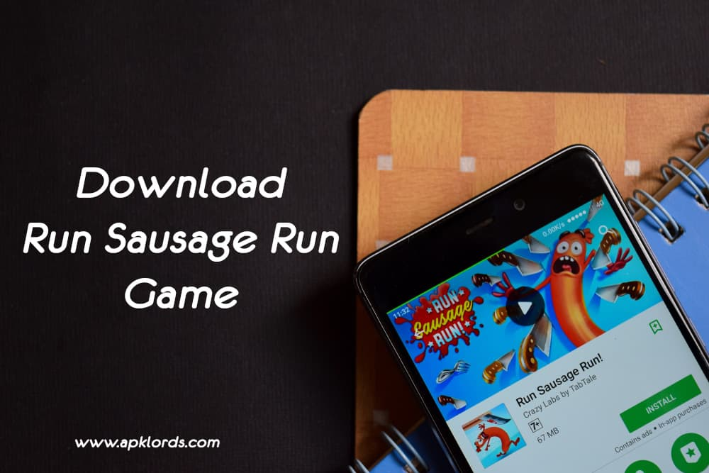 Begin your sausage running adventure with Run Sausage Run apk!