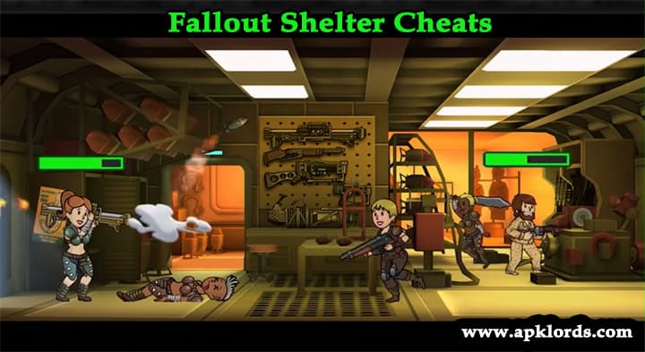 fallout shelter cheat codes