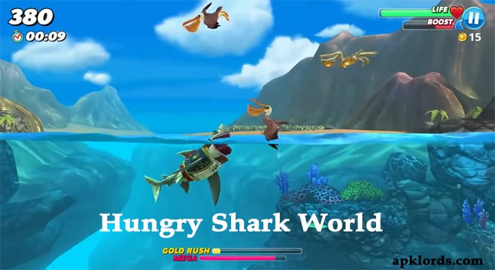 Hungry Shark World Mod apk Cheats