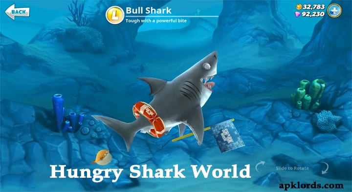 Hungry Shark World Mod apk Hack