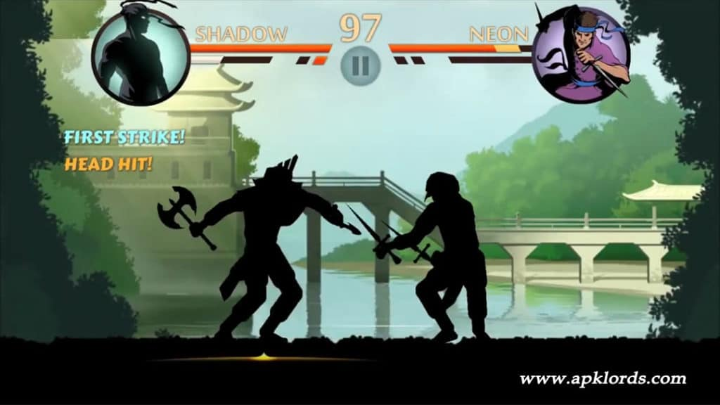 Shadow Fight 2 weapons