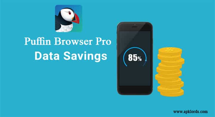 Puffin Browser Data Saving