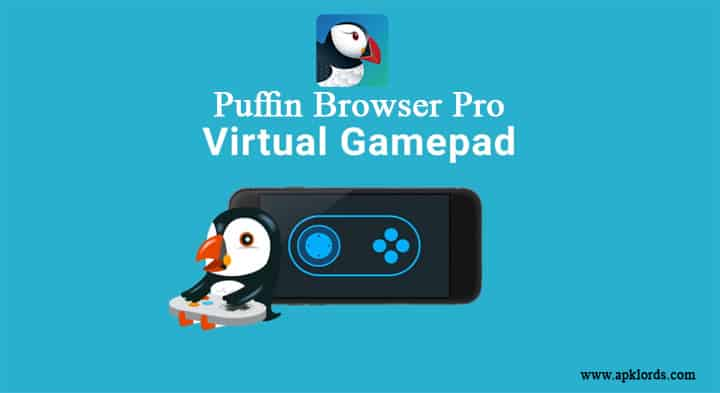Puffin Browser Virtual GamePad