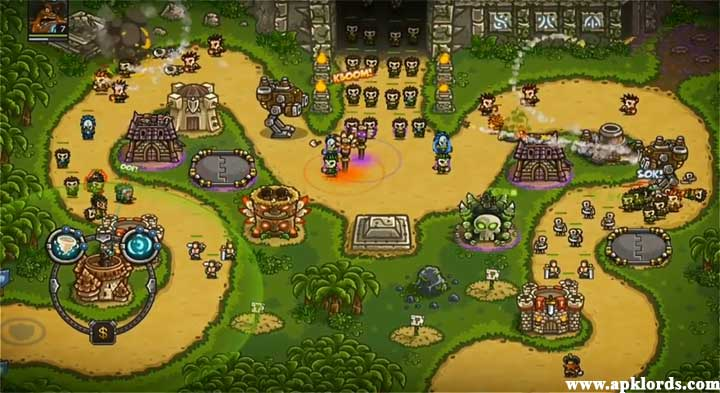 Kingdom Rush Frontiers Features Hacked