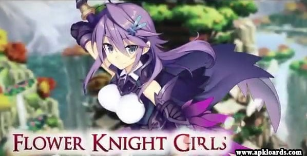 flower knight girl mod apk