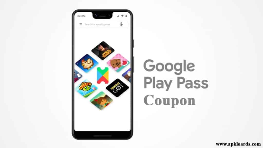 google play pass coupon code