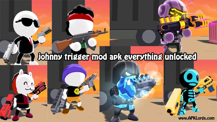 Johnny Trigger MOD APK Everything Unlocked