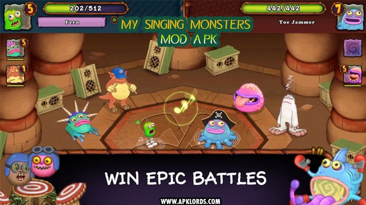 my singing monsters hack apk