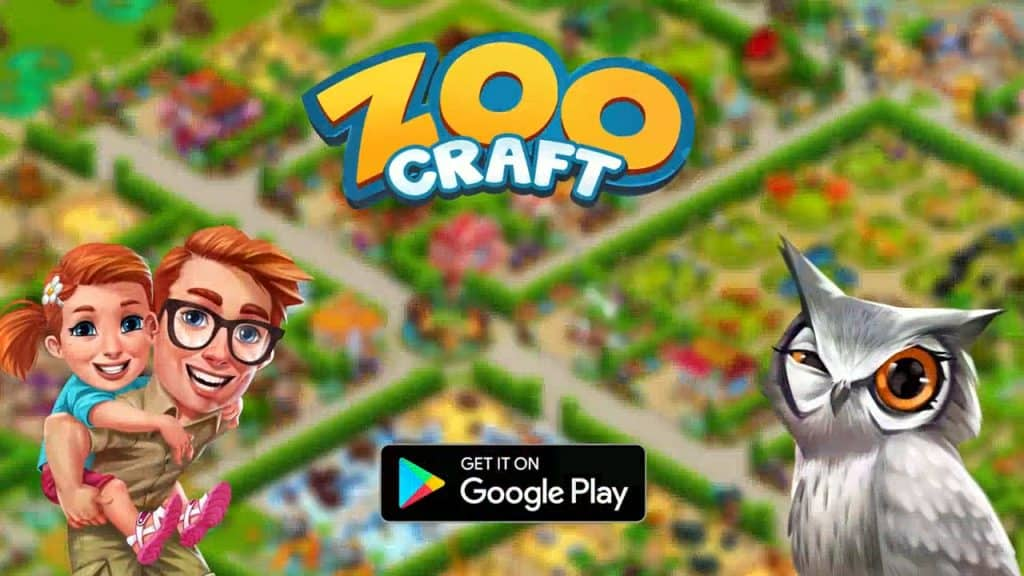 ZooCraft MOD APK  Unlimited Pearls